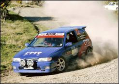 Nissan Pulsar GTi Rally Car